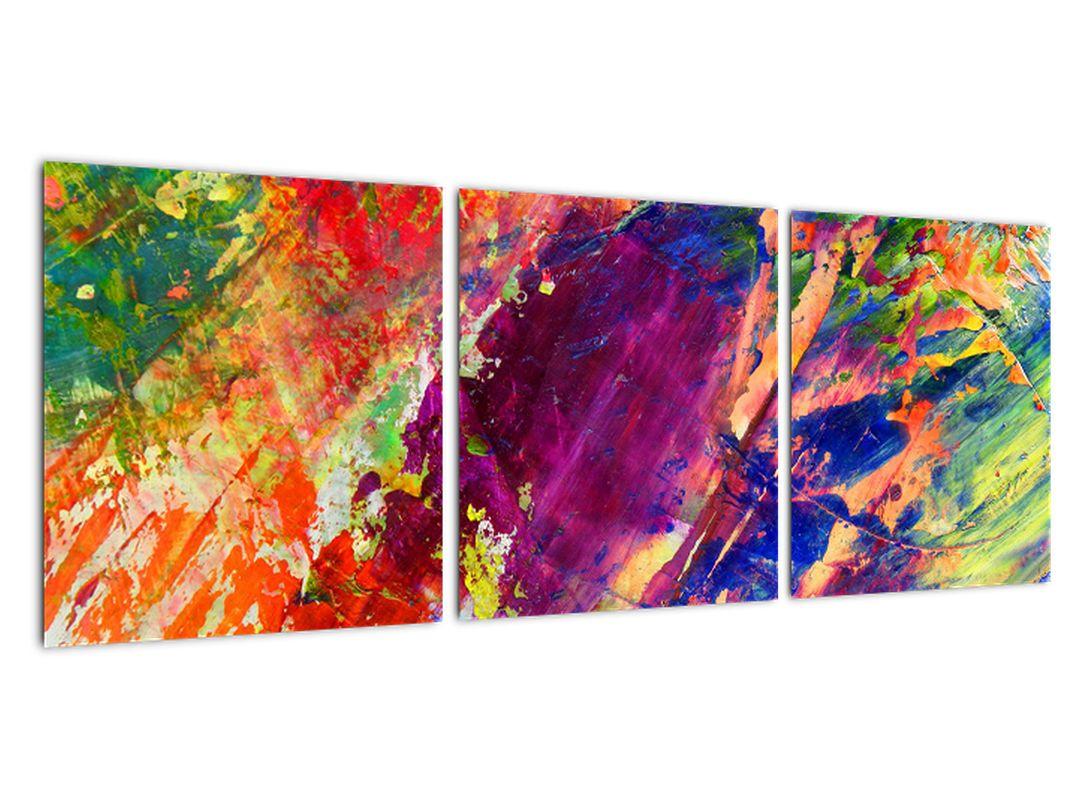 Tablou abstract în culori