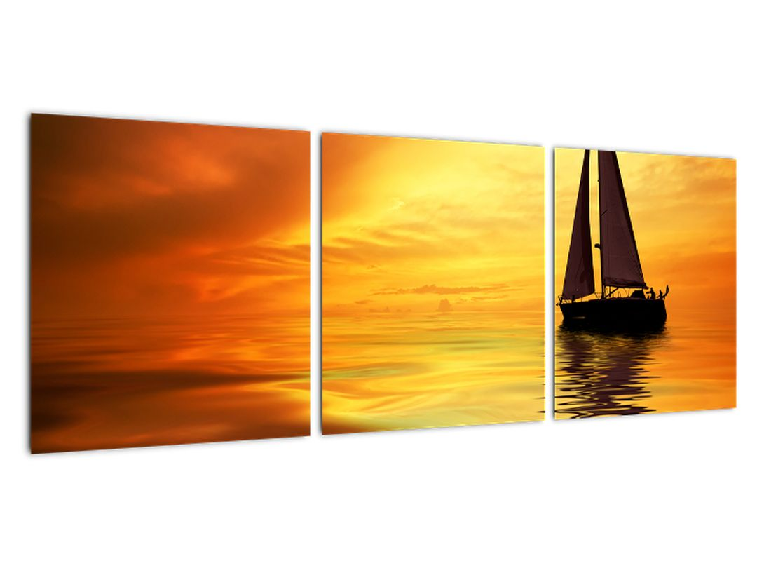 Tablou - nava de navigatie pe mare