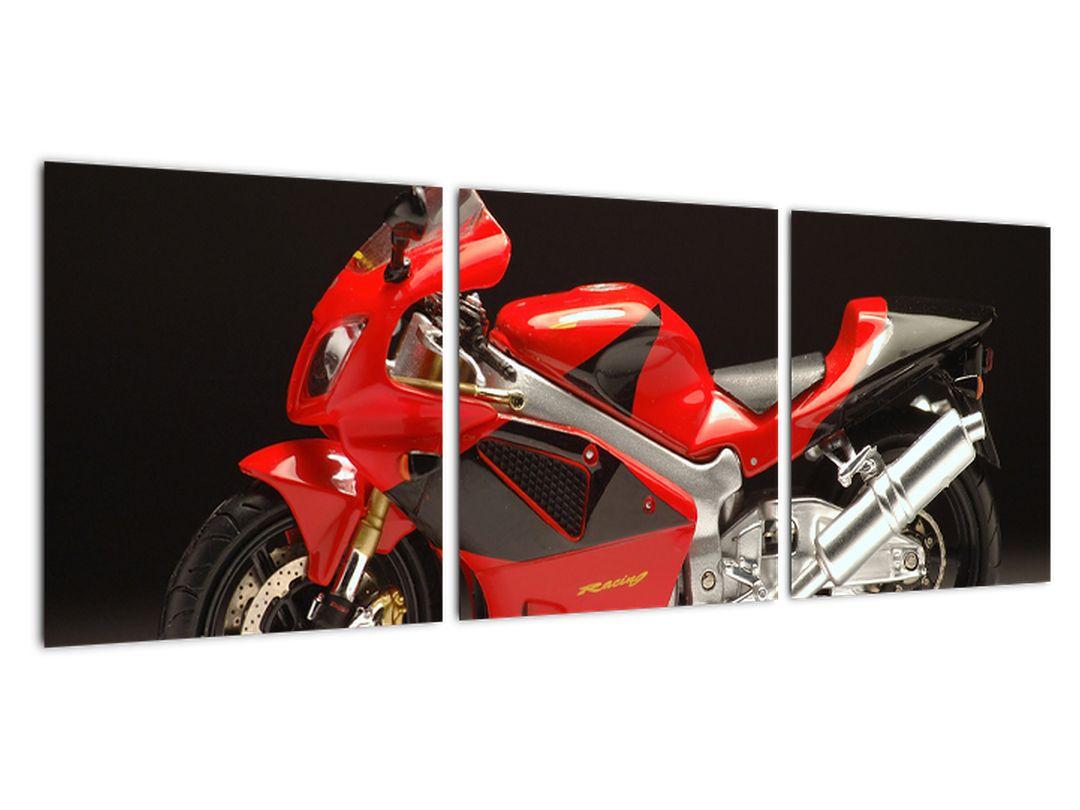Tablou - motocicletă ro?ie