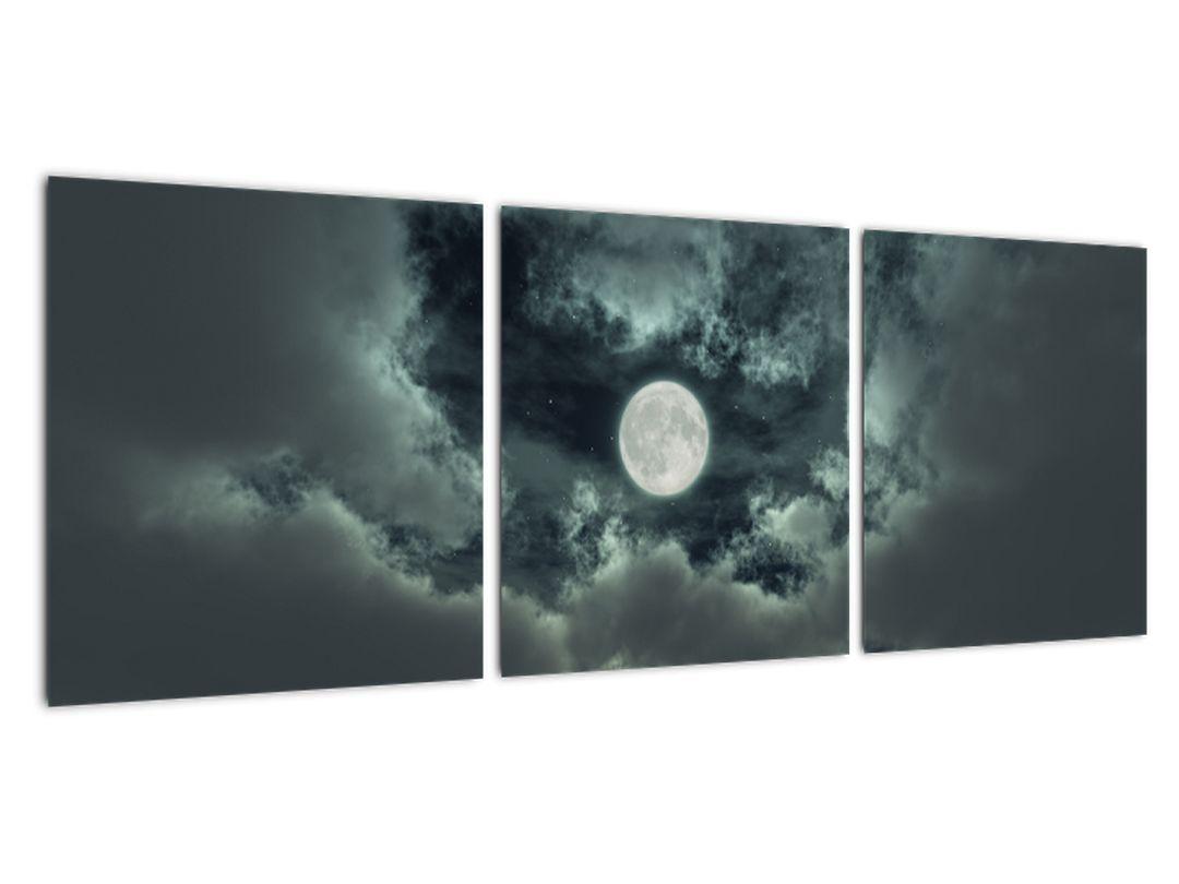 Tablou - lună ?i nori