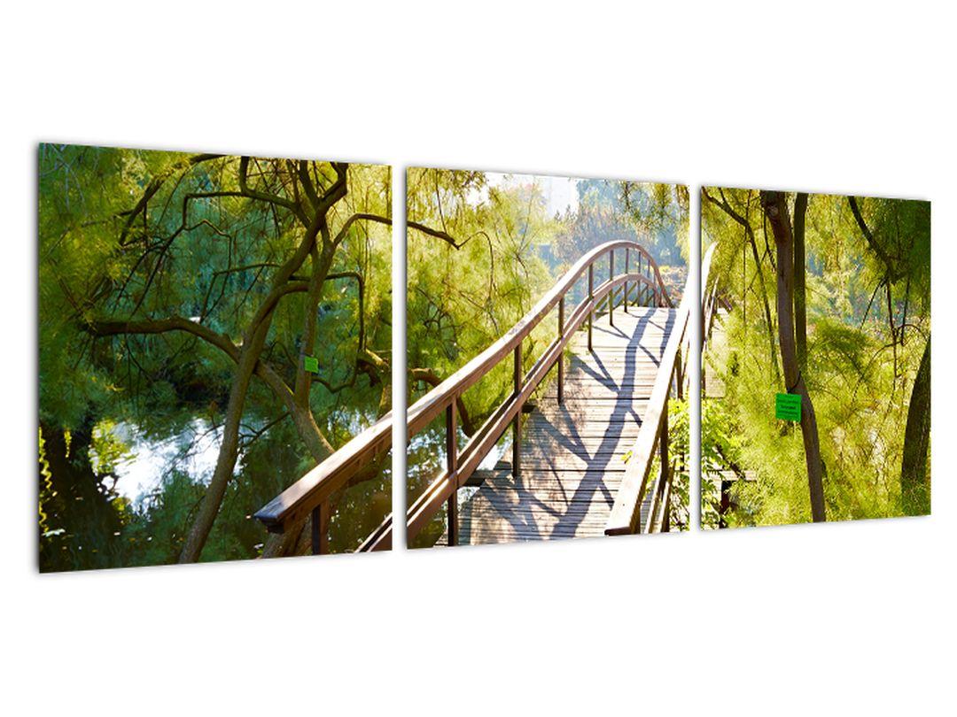 Tablou modern - pod peste apă